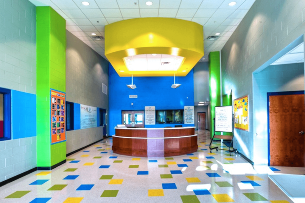 Boys and Girls Club of Central FL - lobby