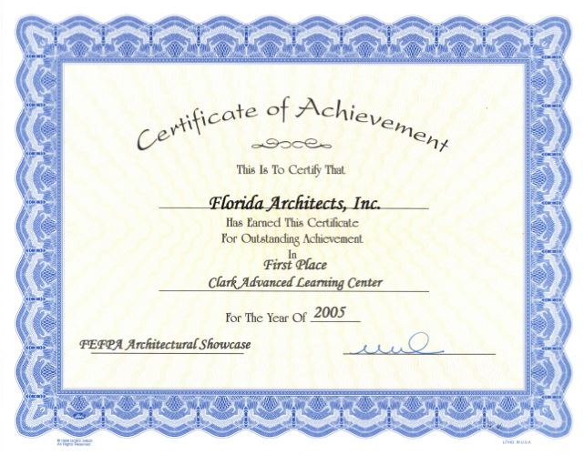 FLA-Clark-Award-Learning-Center